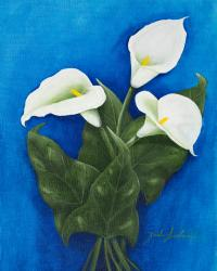 Lillies, painting